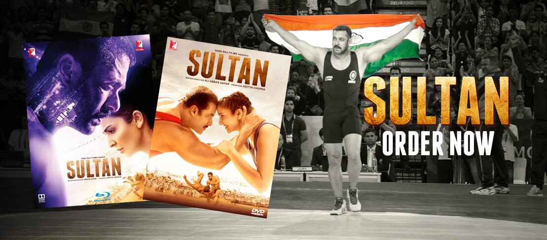 Sultan DVD and Blu-Ray