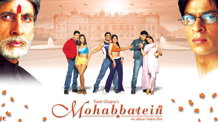 Image result for mohabbatein movie