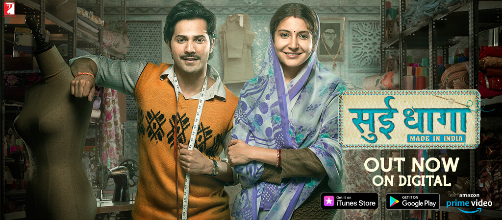 Varun Dhawan and Anushka Sharma in SUI DHAAGA - Made in India