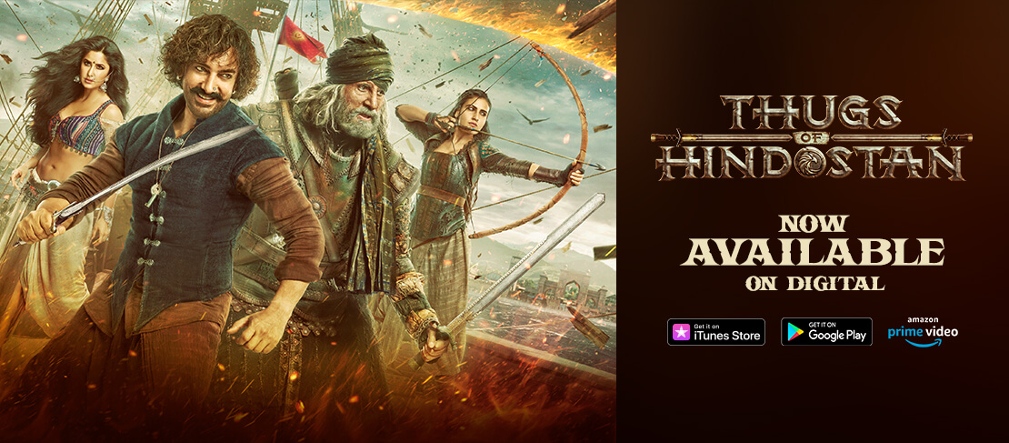 Thugs Of Hindostan Out Now On Digital