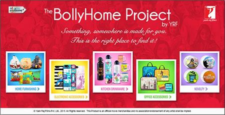 "YRF's ""BollyHome Project"" now available on Snapdeal"