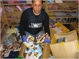 Council and police seize £80,000 of fake Bollywood DVDs
