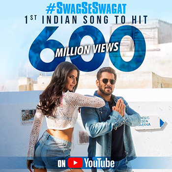 First Indian Song To Hit 600 Million Views