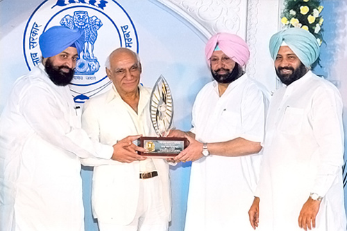 First Punjab Rattan Awarded To Yash Chopra