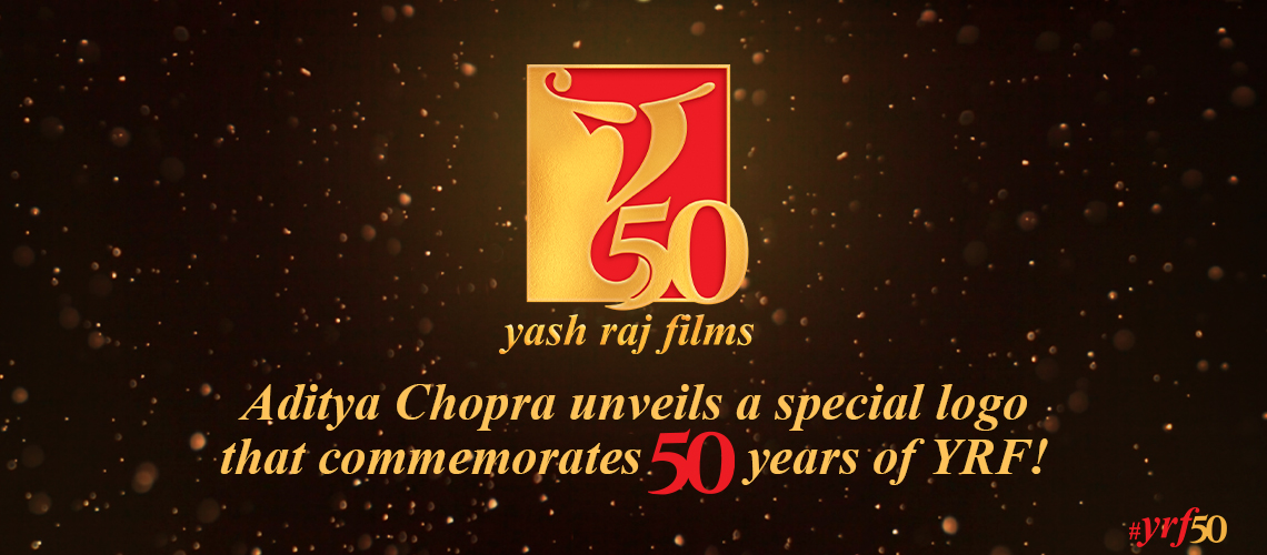 Aditya Chopra unveils a special logo that commemorates 50 years of YRF