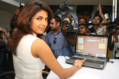 Priyanka Chopra launched the website for PYAAR IMPOSSIBLE
