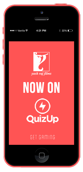 Trivia Challenge: YRF on boards QuizUp App