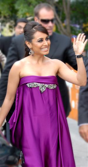 Rani Mukerji at the Toronto International Film Festival (TIFF) for the World Premiere of Dil Bole Hadippa.