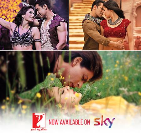 Magic of YRF movies now available on Sky Store UK