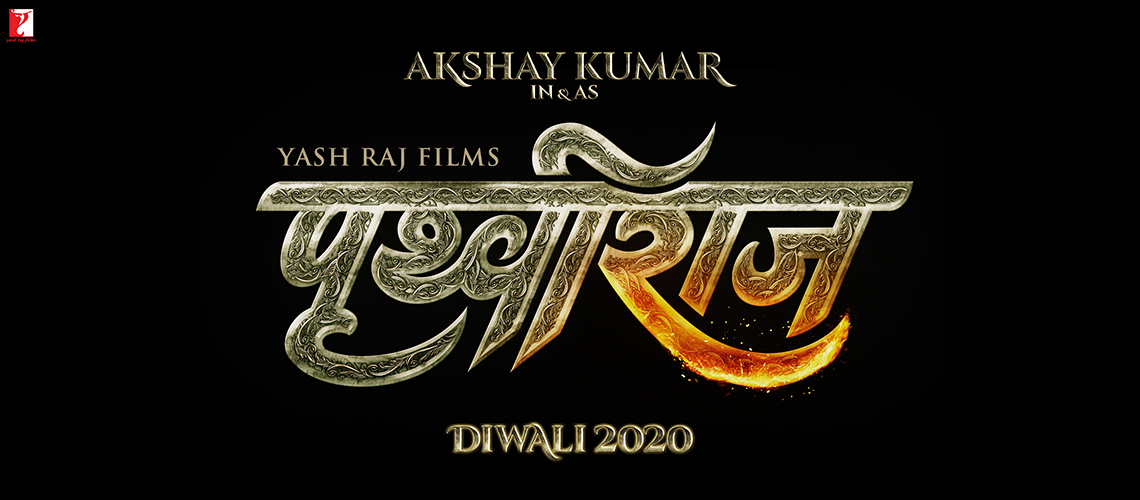 Akshay Kumar in and as the fearless king Prithviraj Chauhan!