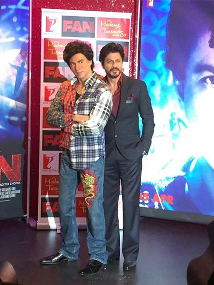 THE FIRST OF ITS KIND 'FAN' MOMENT IS HERE - YRF Makes the Impossible Happen with SRK's Madame Tussauds London Wax Figure Turning into Gaurav!