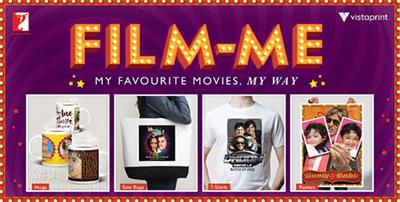 Film Yourself With Yash Raj Films And Vistaprint
