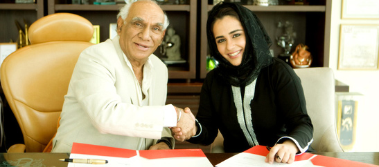 Yash Raj Films (YRF) signs a Joint Venture with Dubai Infinity Holdings