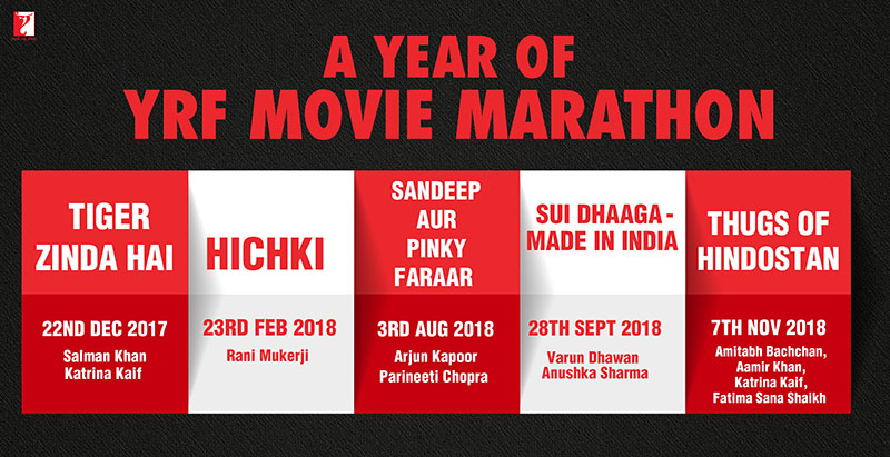 YRF Movie Marathon